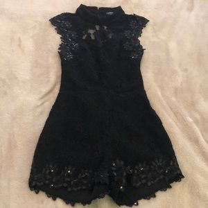 Other - Black romper